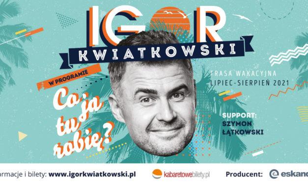 Igor Kwiatkowski podbija morze